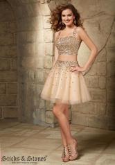 9340 Sticks and Stones by Mori Lee