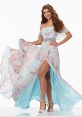 99024 Blue Floral front