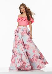 99045 Pink Floral front