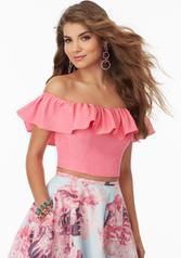 99045 Pink Floral detail