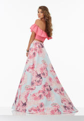 99045 Pink Floral back