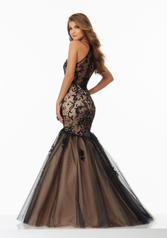 99081 Black/Nude back