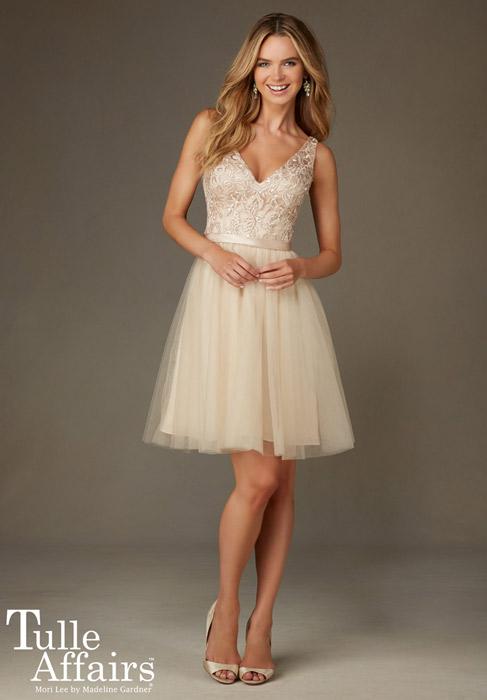 Tulle Affair Bridesmaids by Mori Lee