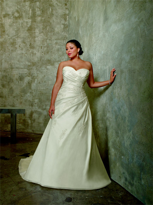 Julietta Plus Size Bridal by Mori lee
