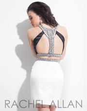 3998 Black/White back