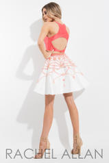 4111 Coral/White back