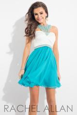 4181 White/Turquoise detail