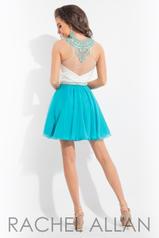 4181 White/Turquoise back