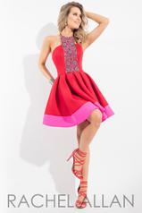 4204 Red/Fuchsia front