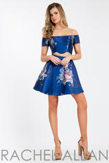 4486 Navy Print front