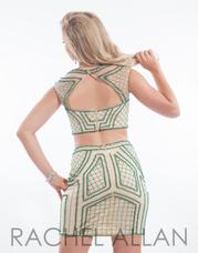 6647 Nude/Emerald back