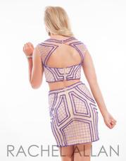 6647 Nude/Purple back