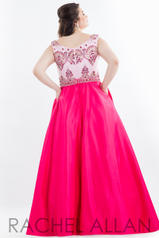 7849 Pink/Fuchsia back