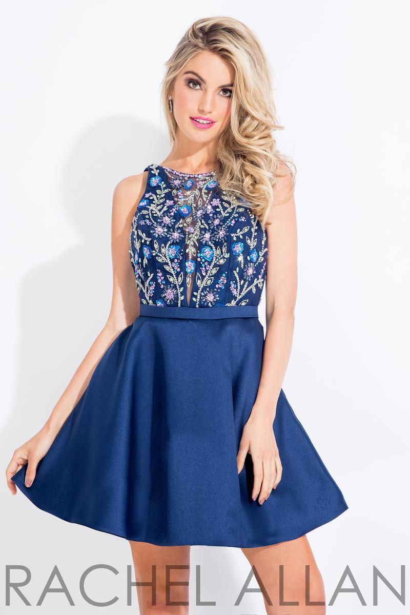 1048e81e09c9 Rachel Allan Short Prom Dress