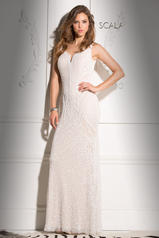 48721 Ivory/ Nude front