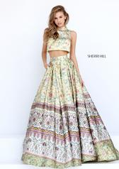 50783 Yellow/Multi Print front