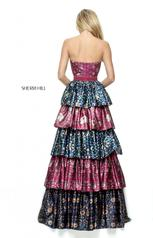 50791 Plum/Navy Print back