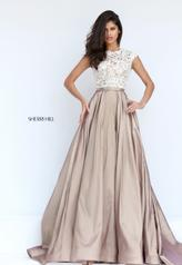50843 Ivory/Nude front