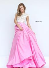 50843 Ivory/Pink front