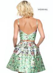 50854 Green Print back