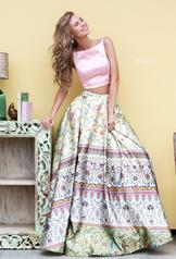 50924 Pink/Yellow Print front