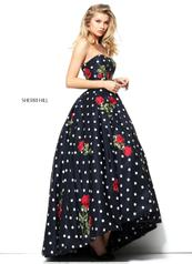 50945 Black/Ivory/Red front