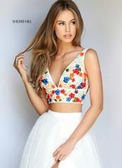 50948 Ivory/Multi front