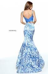 51015 Blue/Ivory Print back