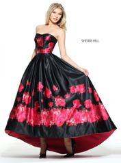 51055 Black/Red Print front