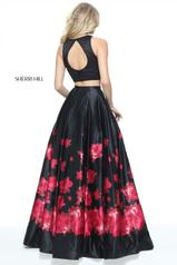 51100 Black/Red Print back