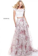 51176 Ivory/Print front