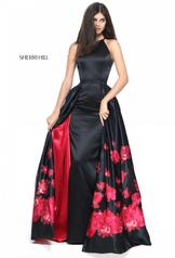 51193 Black/Red Print detail