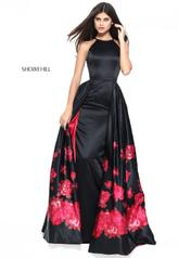 51193 Black/Red Print front