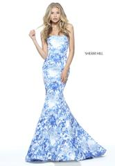 51198 Ivory/Blue front