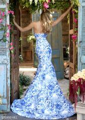 51198 Ivory/Blue back