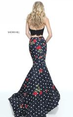 51239 Black/Ivory/Red back