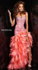 21127 Size 8 Aqua Was $698 Sherri Hill