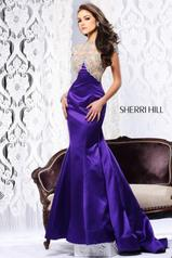 21147 SIZE 2 PURPLE Sherri Hill WAS $700