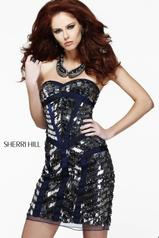 21195 Short Sequined