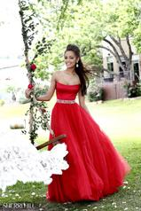21249 Strapless Ball Gown