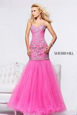 2974 Hot Pink/Silver front