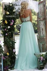 32347 Light Blue/Nude back