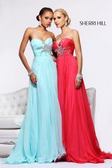 Strapless Chiffon Jewels