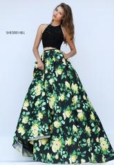 50119 Black/Yellow Print front