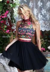 50140 Black/Multi detail