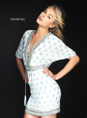 50381 Ivory/Turquoise front