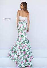 50398 Ivory/Pink Print back