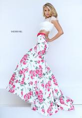 50421 Ivory/Pink Print other