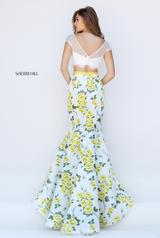 50421 Ivory/Yellow Print back