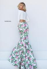 50433 Ivory/Pink Print back